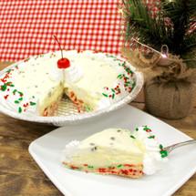 Christmas Cannoli Cake Pie