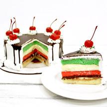 Italian Rainbow Cake