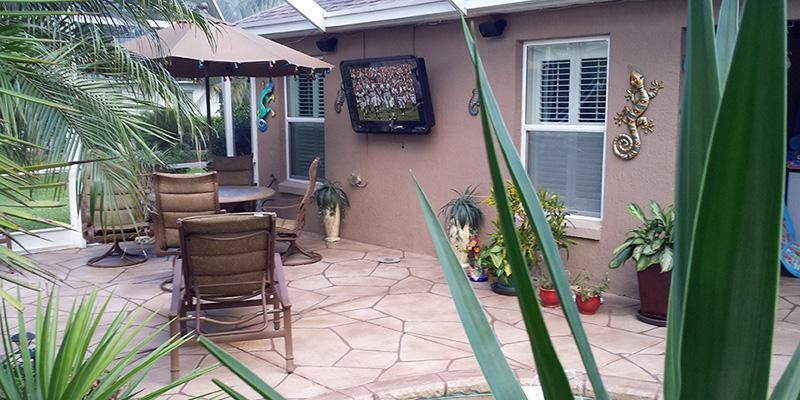 Why An Outdoor TV Cabinet Is Better Than A Weatherproof TV