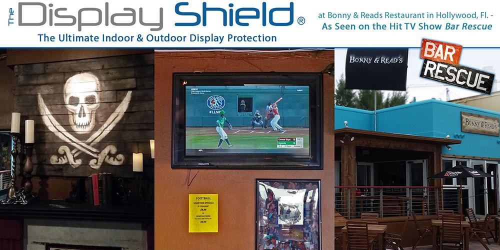 The Display Shield at Bonny & Reads Restaurant Hollywood
