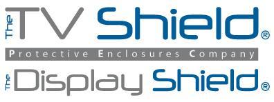 The TV Shield/The Display Shield and Protective Enclosures Company Logo