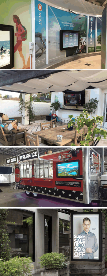 Outdoor TV Enclosures, Digital Display Protection, Indoor TV Protection
