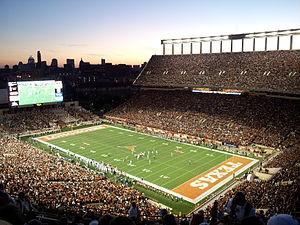 Darrel K Royal – Texas Memorial Stadium on the list of biggest USA stadiums