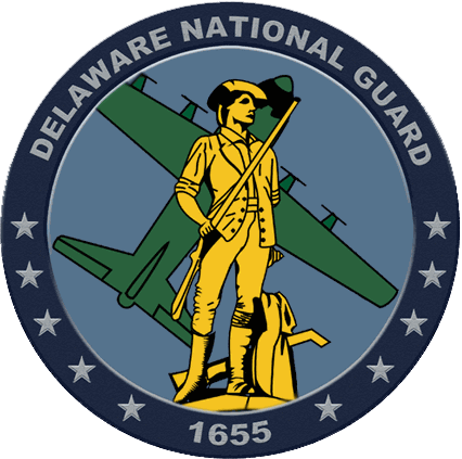 Delaware National Guard 1655 Logo