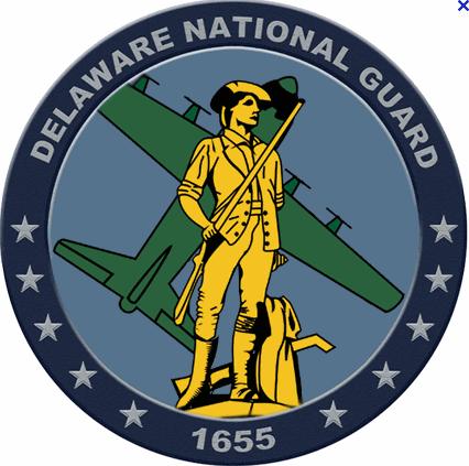 Delaware National Guard 1655 Logo