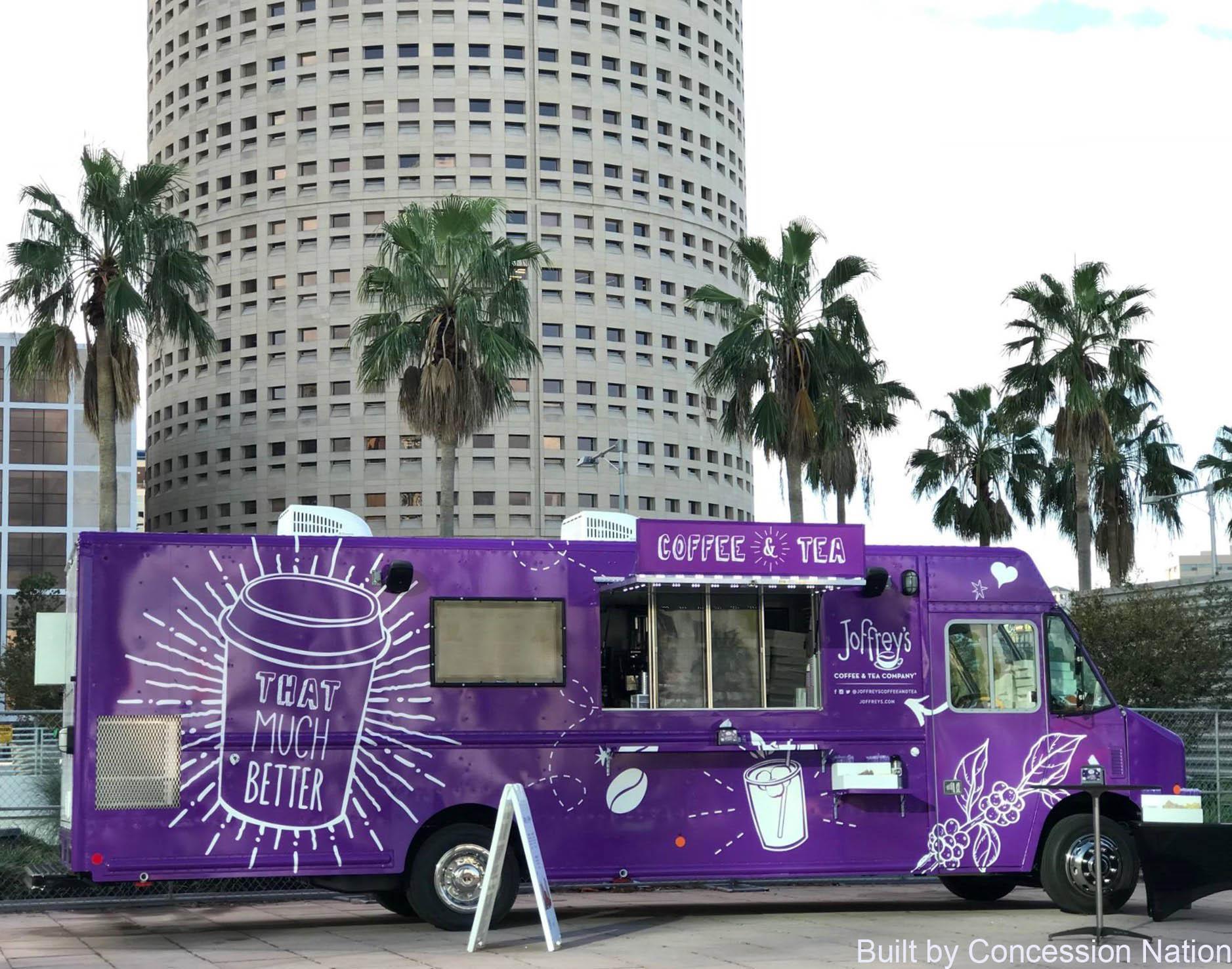 Joffrey's Food Truck - Digital Menu Board