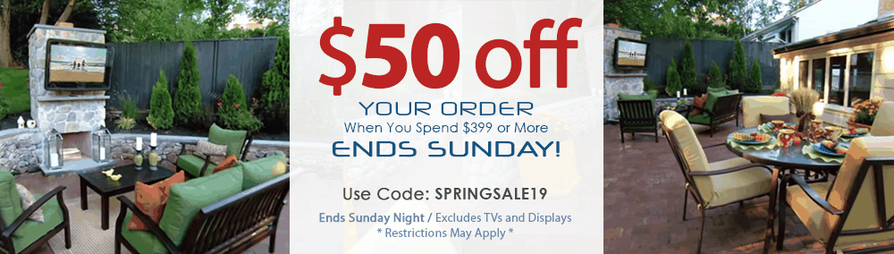 The TV Shield 2019 Spring Sale and Coupon for Outdoor TV Enclosure