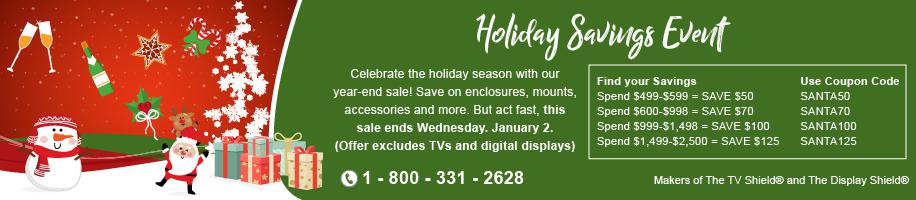 The TV Shield 2018 Holiday Sale