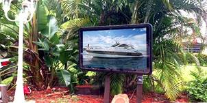 Outdoor TV Cabinets for be the pool - weatherproof and water resistant