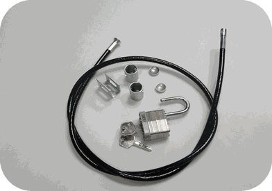 The TV Shield Security Lock Kit