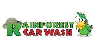 Rainforest Car Wash Logo