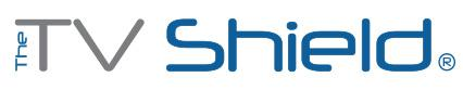 The TV Shield rain-resistant outdoor TV enclosures logo