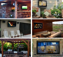 weatherproof outdoor tv cases photos
