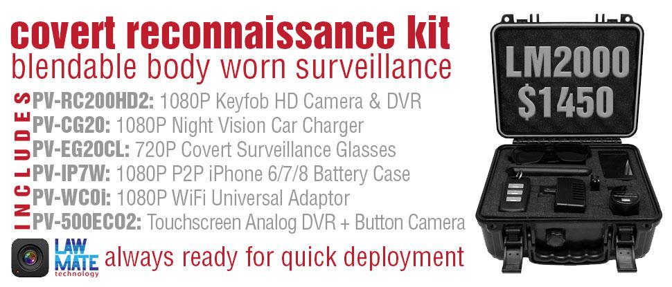 covert reconnaissance kit