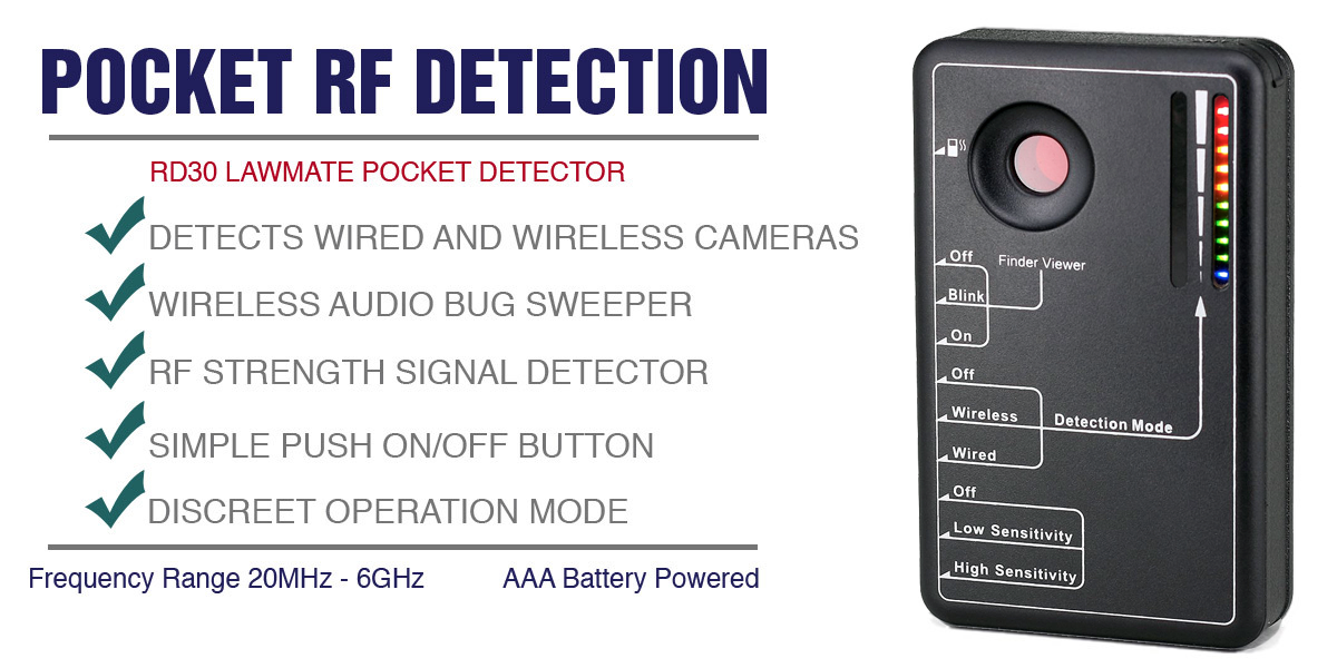 Lawmate RD-30 Hidden Camera Detector