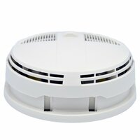 WiFi Spy Camera Smoke Detector w/ Night Vision Side View