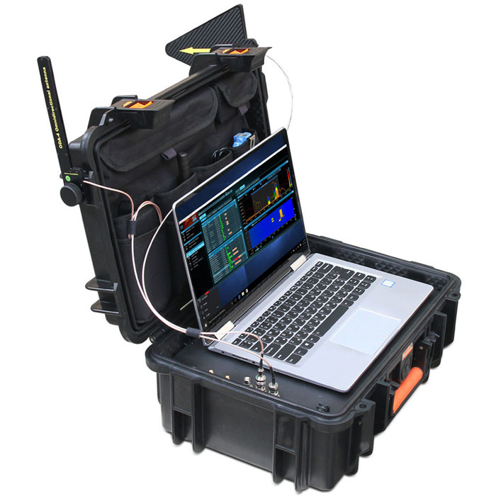DX100-4 | Delta X1004 built in spectrum analyzer to find hidden bugs, hidden spy cameras, listening devices and GPS