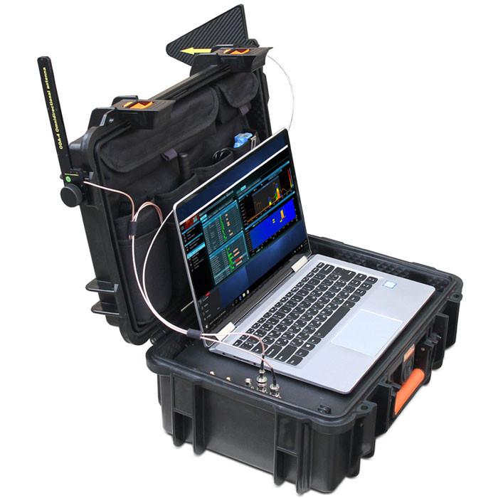 DX100-4   Delta X1004 built in spectrum analyzer to find hidden bugs, hidden spy cameras, listening devices and GPS
