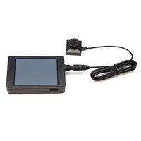 PV-500NP Bundle: All-in-One 1080P P2P Touch Screen DVR & Ruggedized Button Camera Set