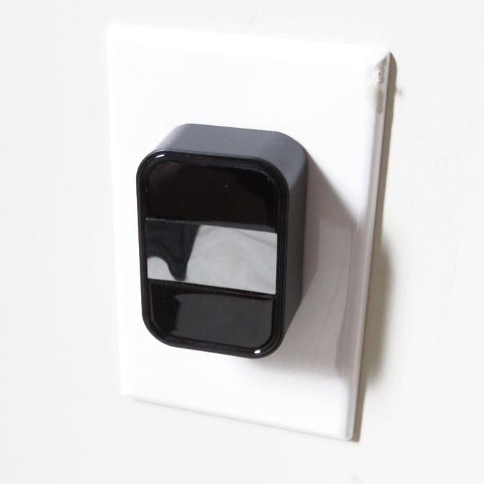 AC Adapter WiFi Nanny Camera plugged in