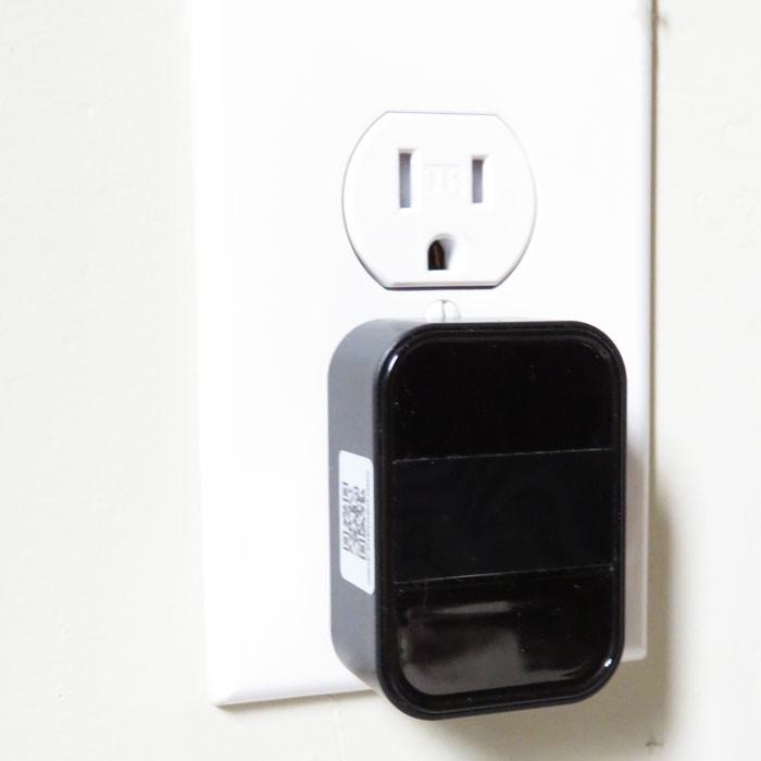 AC Adapter WiFi Nanny Camera