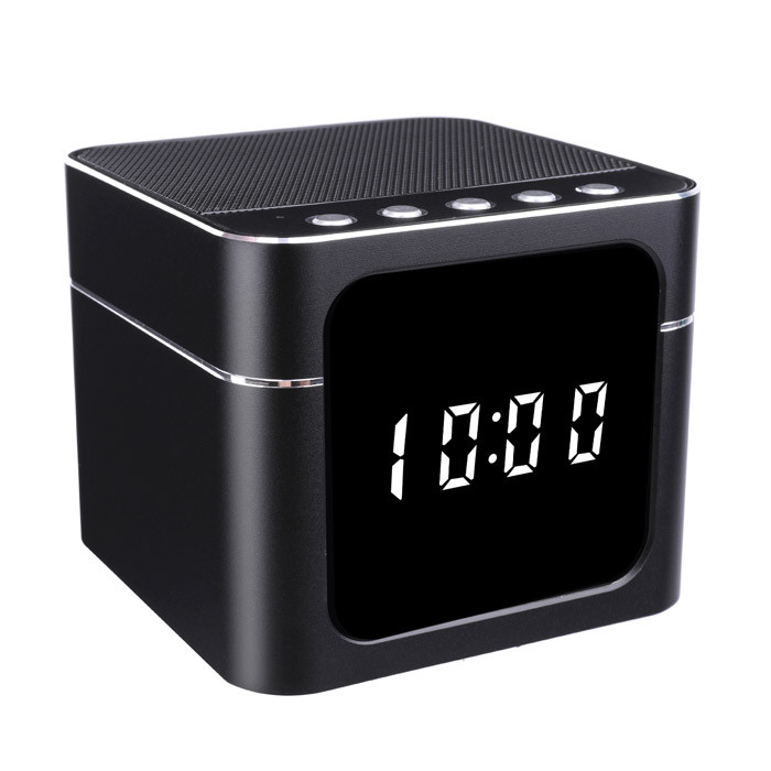 DVR130WF | Night Vision Bluetooth Speaker WiFi DVR | Clock