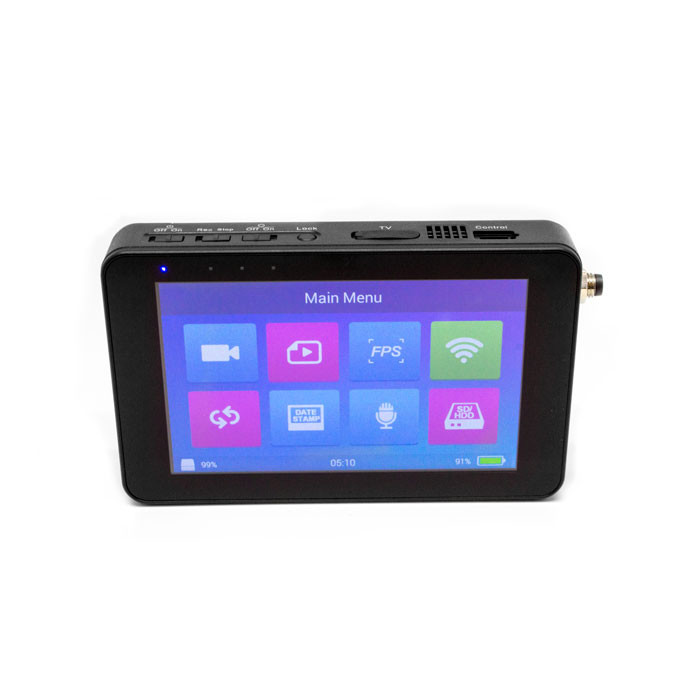 "Lawmate PV-1000EVO3 | 5"" Touchscreen Digital & Analog 1TB Hard Drive DVR Touchscreen on"