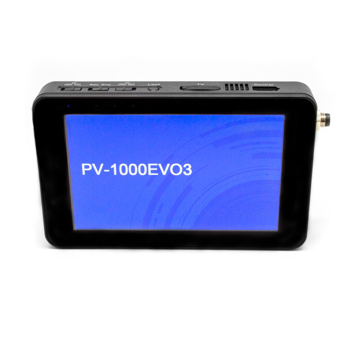 "Lawmate PV-1000EVO3 | 5"" Touchscreen Digital & Analog 1TB Hard Drive DVR Into Screen"