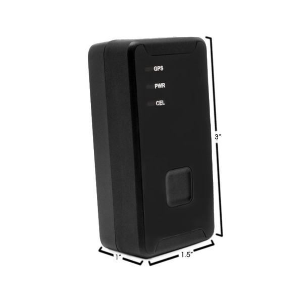 GPS900-4G iTrail® Solo Personal Real Time GPS Tracker Dimensions