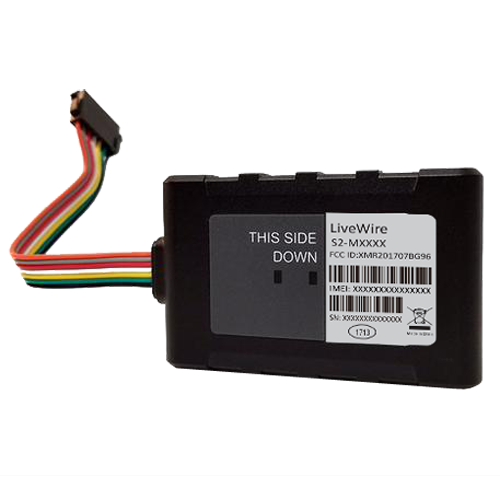 GPS902-4G iTrail® Convoy Real-Time GPS Vehicle Tracker Back