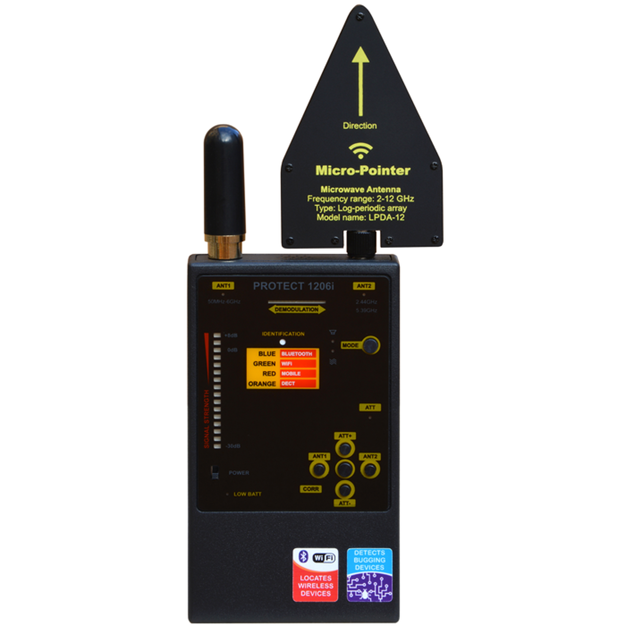Professional Countermeasures Set  law enforcement detector