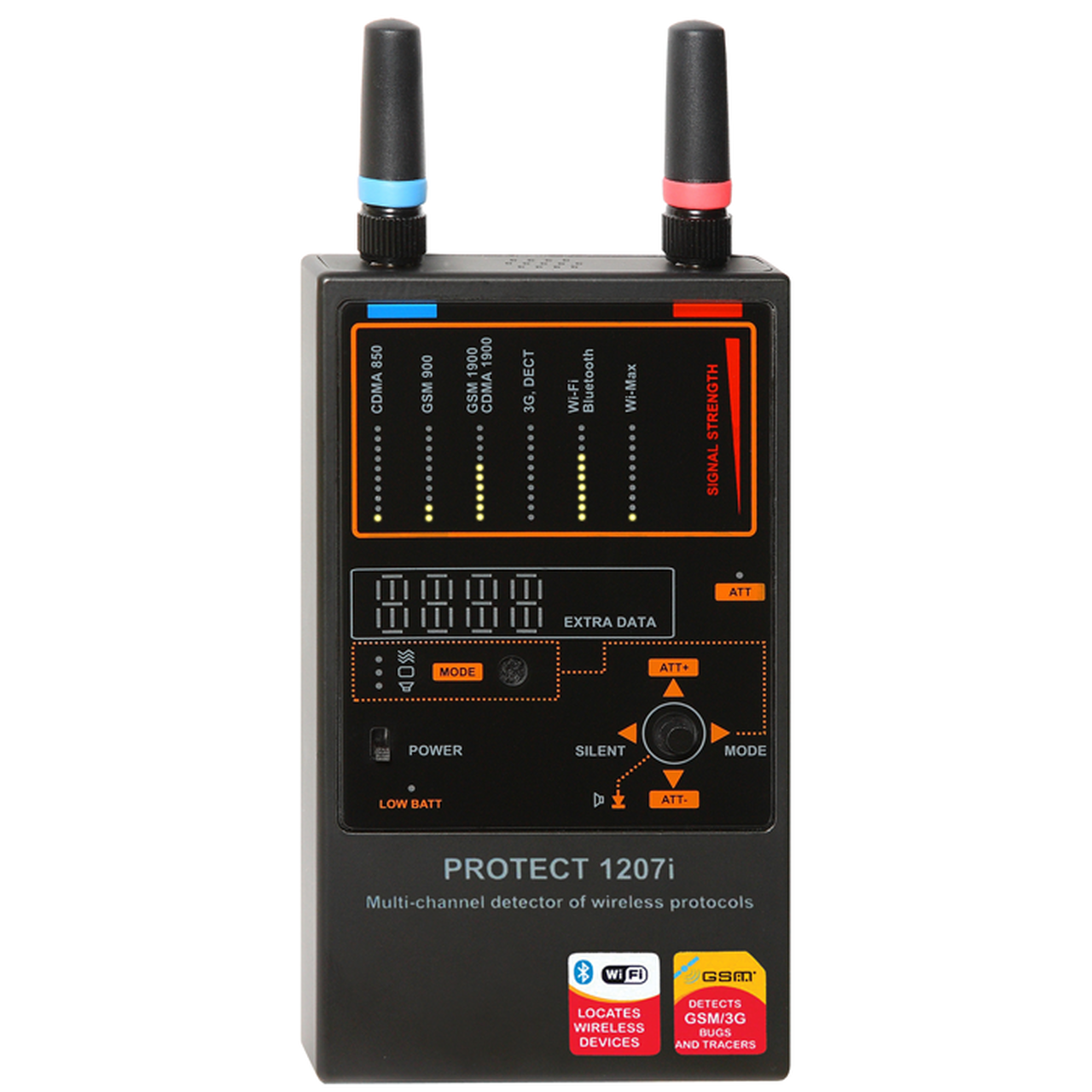 Law Enforcement Grade RF Detectors