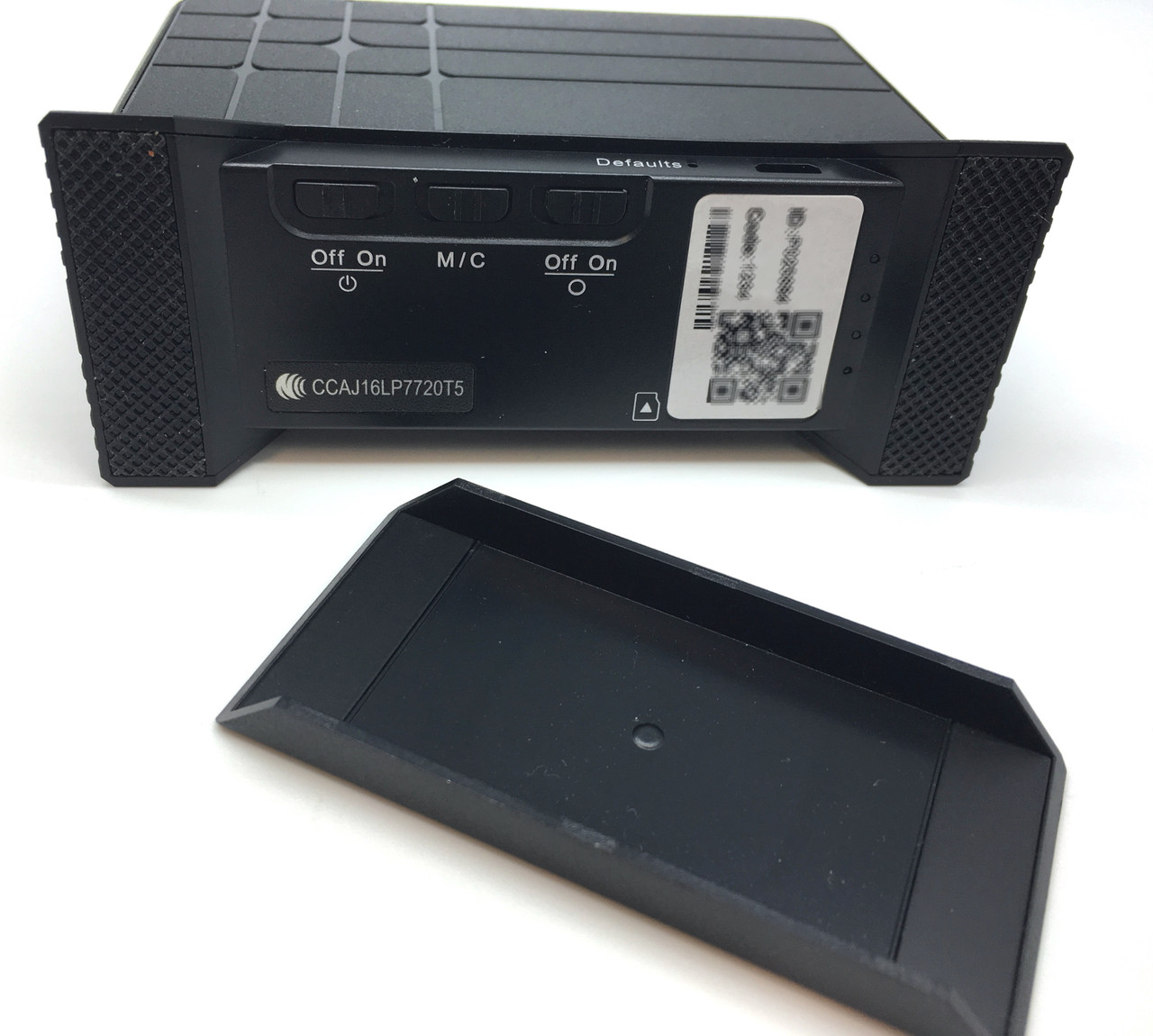 Lawmate PV-CS10i Covert Camera and DVR USB Charging Station bottom open