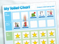Magnetic Moves 'My Toilet Chart' Reward Chart