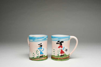 Cotton Picking Mugs.