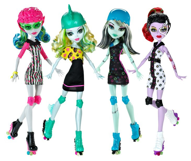 monster high roller maze doll ghoulia yelps mohr toys