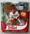 MLB 31 MIKE TROUT Angels DEBUT! (CHASE #46 of 200) Authentic Base Piece