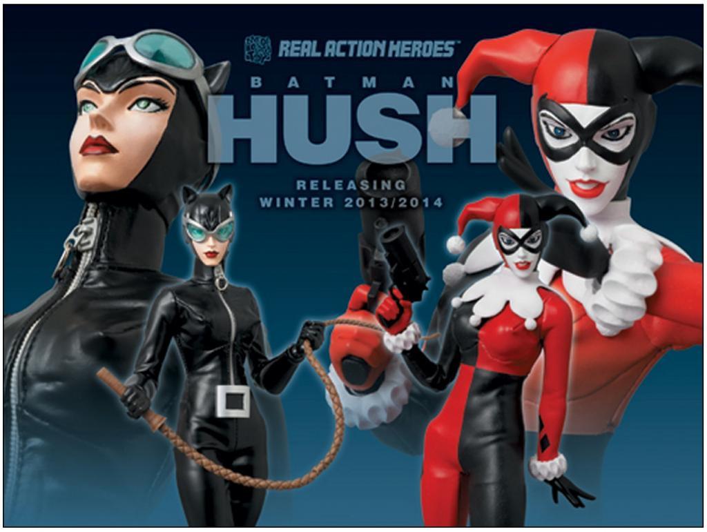 Batman Hush Catwoman Amp Harley Quinn Real Action Heroes