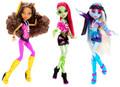 Monster High Music Festival Doll Set of 3
