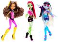 Monster High Music Festival Doll Set of 3