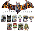 Batman Arkham Asylum Pop! Heroes: Set of 5 Vinyl Figures