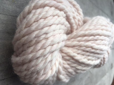 """Pink Clove"" 70% alpaca/25% US Merino/5% icicle, 2 ply bulky weight, 50 yds, 3.0oz/85g"