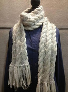 Connetquot River Scarf by Linda Ritchie Unger