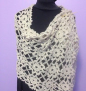 Montauk Lacy Wrap by Amy Shelton