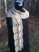 Montauk Lacy Scarf by Amy Shelton