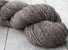 """Jasper"" American Raised & Spun        80% alpaca/20% silk, 2 ply fingering wt., 400 yds, 4.4oz/125g"