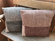 Large Woven Pillow