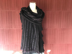 Black & Purple Wrap