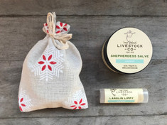 Shepherdess Salve & Lippy Mini Set - Coconut