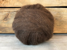Brown Rambouillet Roving